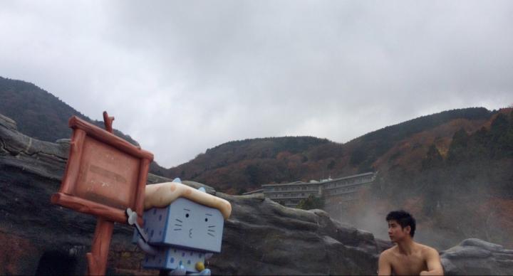 Menjelajahi Hakone: Makan Telur Awet Muda di Owakudani. Berlayar ala One Piece di Lake Ashi. Mandi Bugil di Onsen dan Berendam Wine di Yunessun HotSpring