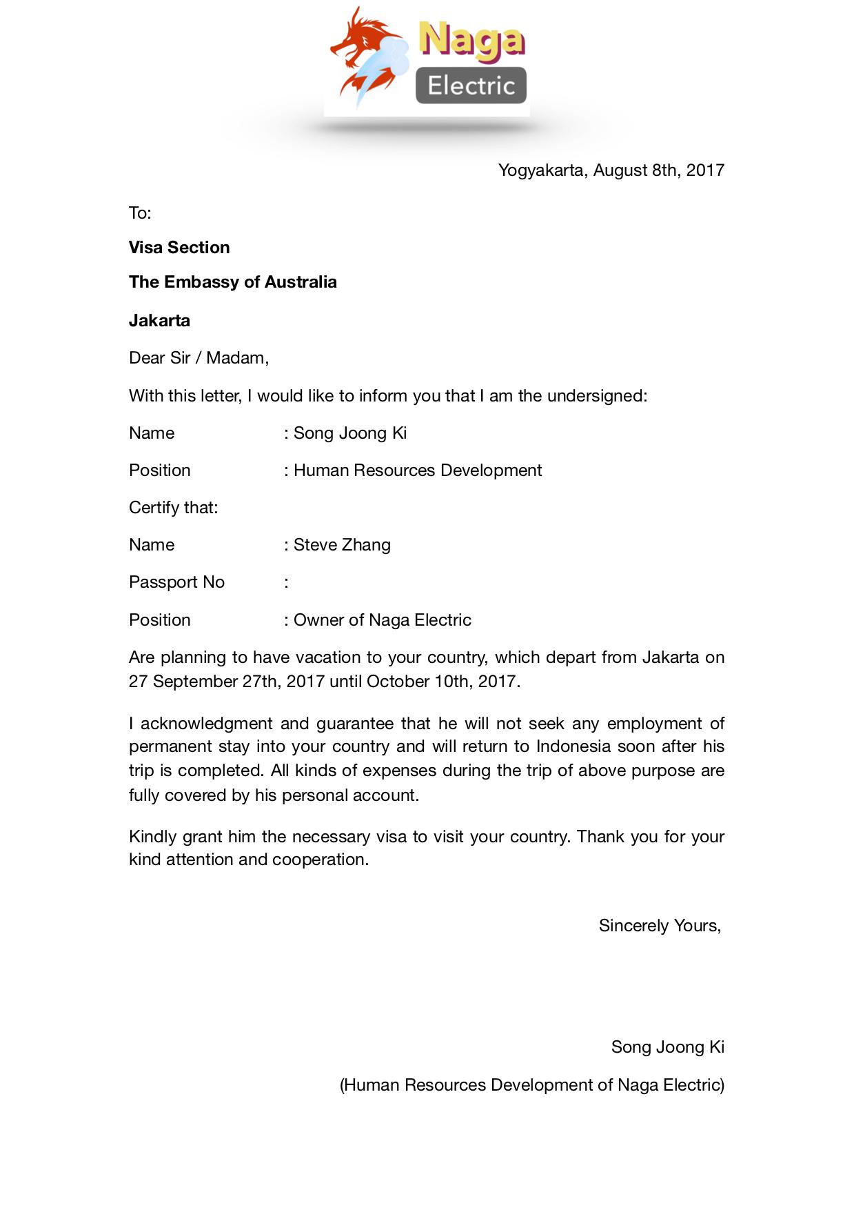Tips Agar Visa Australia Mu Disetujui Disertai Panduan