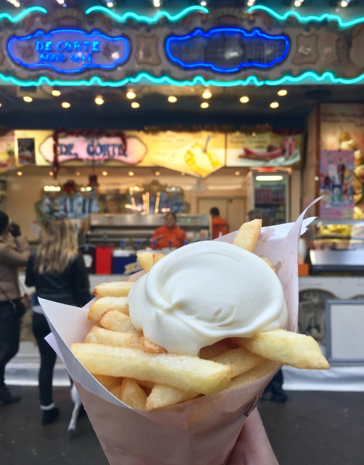 Menembem di Brussels: it's all about the best Frites, Waffles,andChocolates!