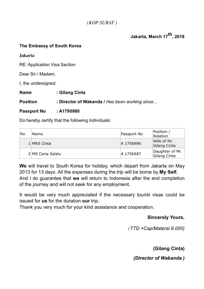 Tips Agar Visa Korea Mu Disetujui Disertai Syarat Pengajuan