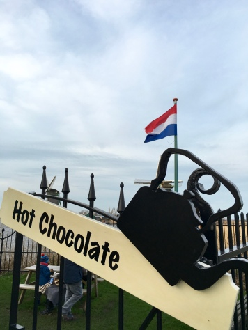 Make your own hot chocolate at the Chocolate factory