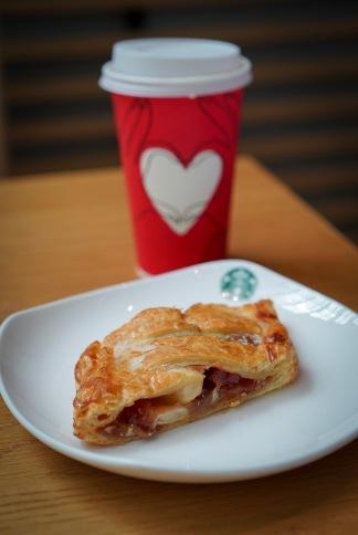 Apple Pie with Caramel Macchiato = Happy Tummy