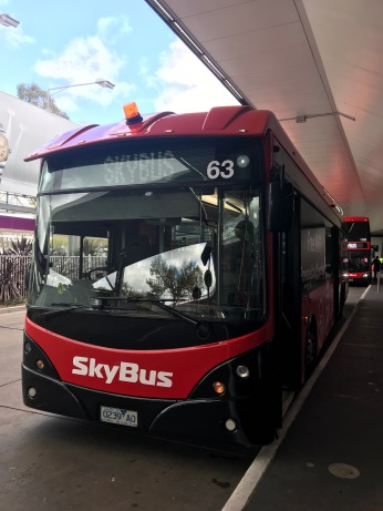 The SkyBus are ready to serve you 24 hours a day