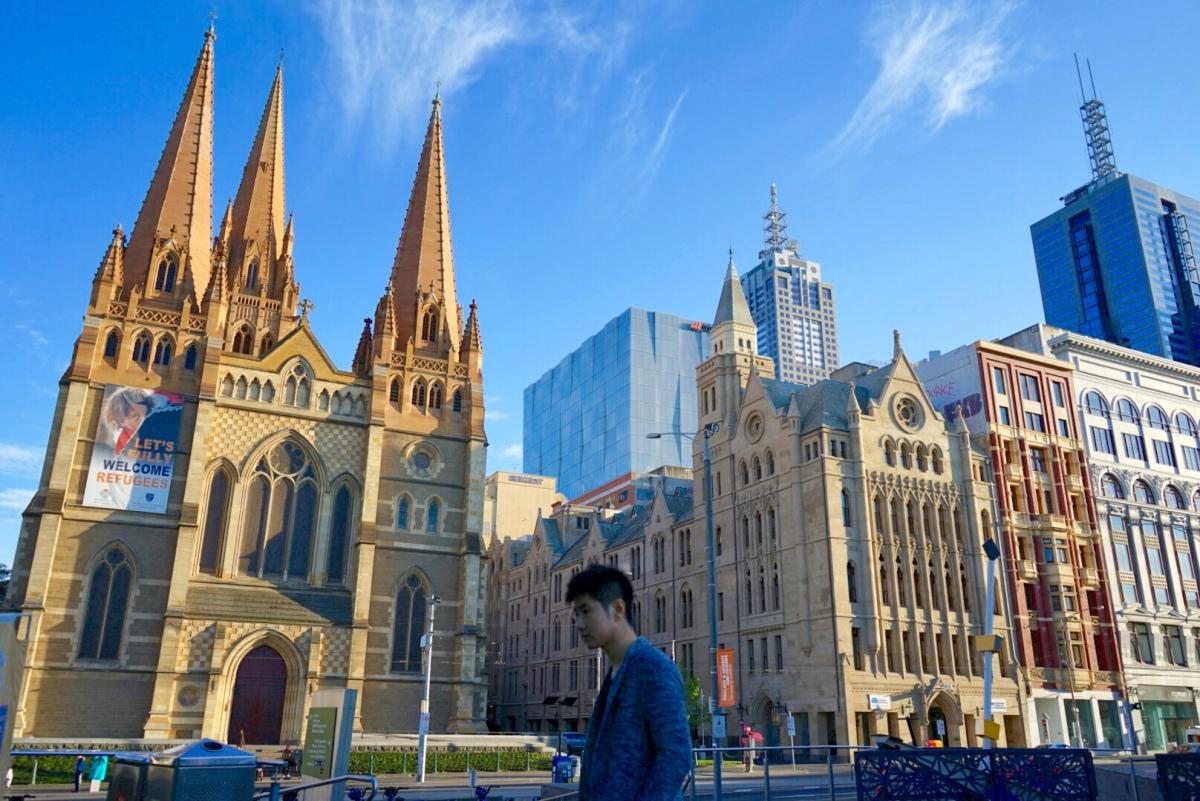 Melbourne yang bikin keki. Cantiknya musim semi di kota layak huni