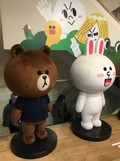 My favorite messenger platform. If you're an addict LINE user, I bet Brown, Cony, Moon and Sally are some of the familiar names