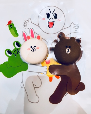 Hands down to its cuteness, i bought the sweet asshole couple Cony and Brown