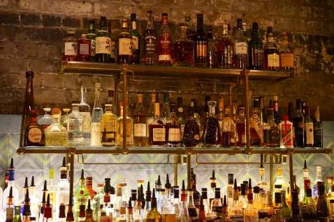 A lot of liquor selection for you to be drunk