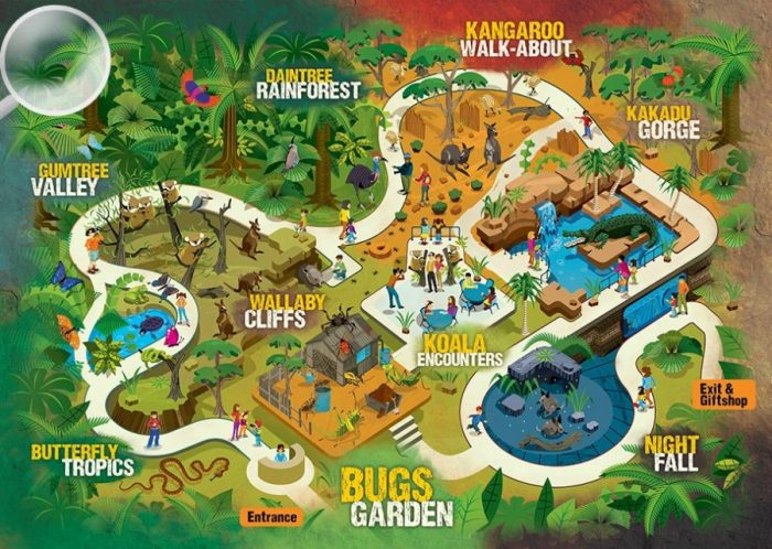 WILD-LIFE-Sydney-Zoo-map