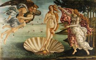 Sandro Botticelli, The Birth of Venus sumber ©WikiCommons
