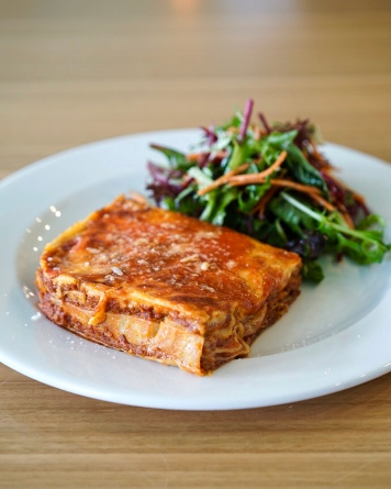 Arguably, the best Lasagne you'll taste in Melbourne. Bossy Boots has been wonderfully featured in The Weekly Review including a comment about their Lasagne being the best in Melbourne