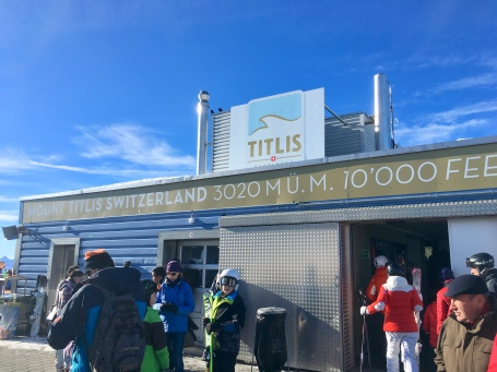 Mount Titlis, 3020 Metres and 10,000 Feet above sea level