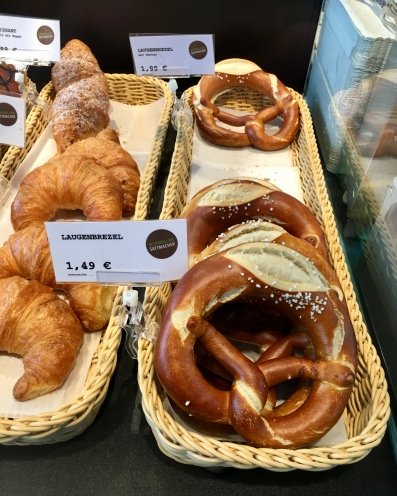 One of the most interesting part during travel would be trying the local food, The Laugenbrezel – a savoury shape baked from yeast dough and with a distinctive brown and chewy crust