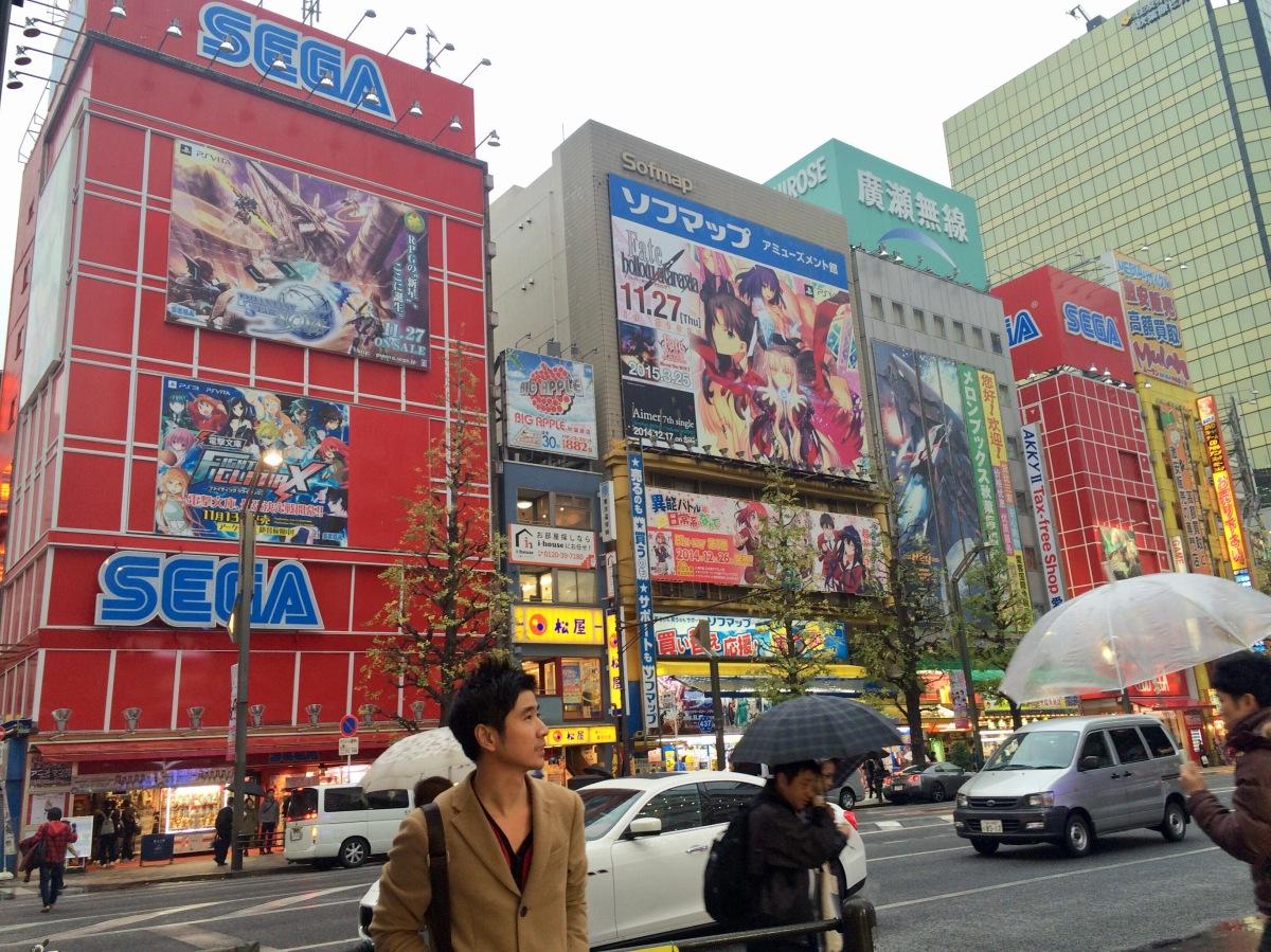 Membaranya Akihabara, Odaiba dan Tokyo Tower