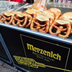 Pretzels from Merzenich is simply yummy!