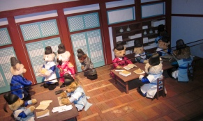 Miniature inside Teddy Bear Museum