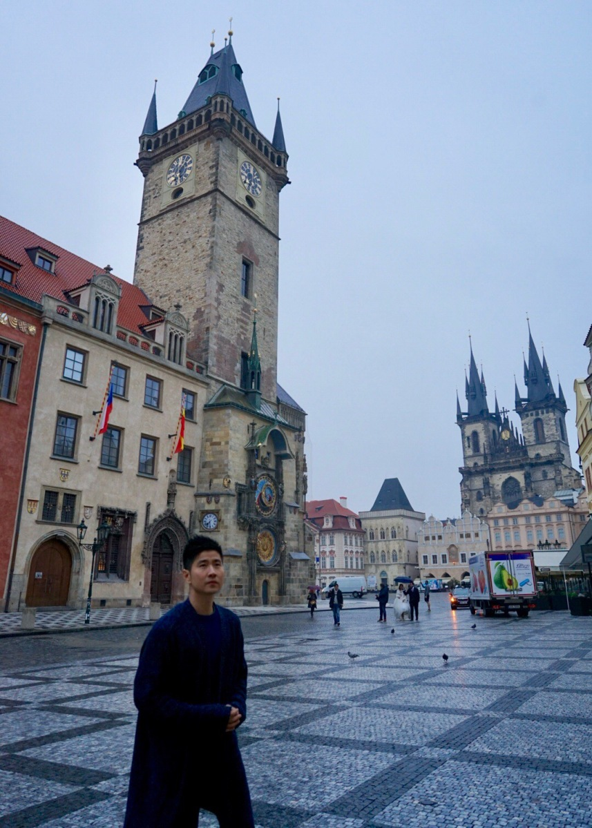 My first day in Prague