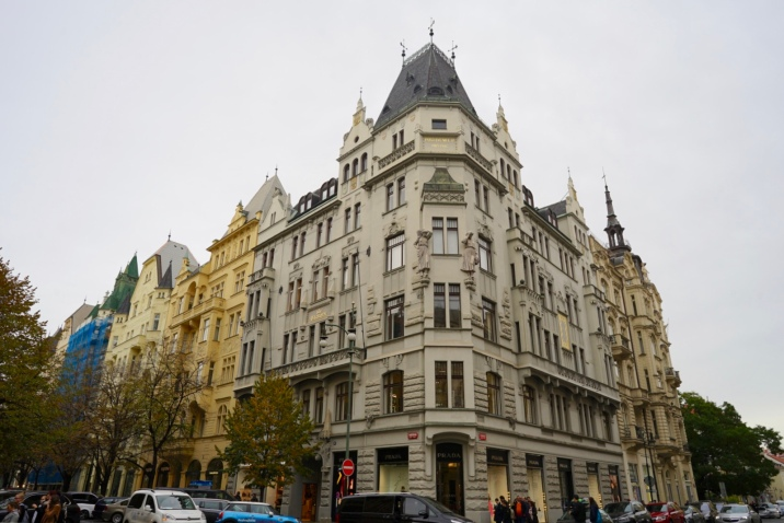 Colourful Renaissance architecture with cosmopolitan atmosphere alongside museums and churches. Prague's mysterious charm