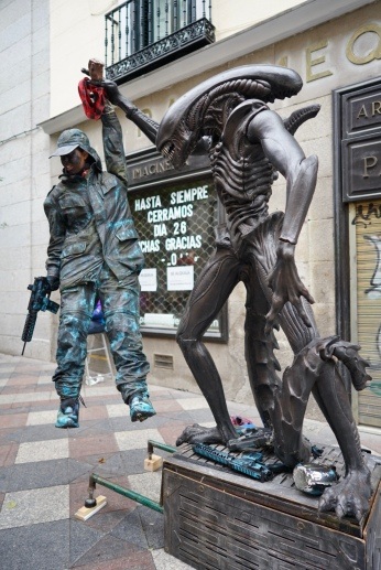 Alien that allergic to human. Where's Predator?