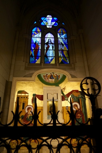 Fascinating stained-glass window