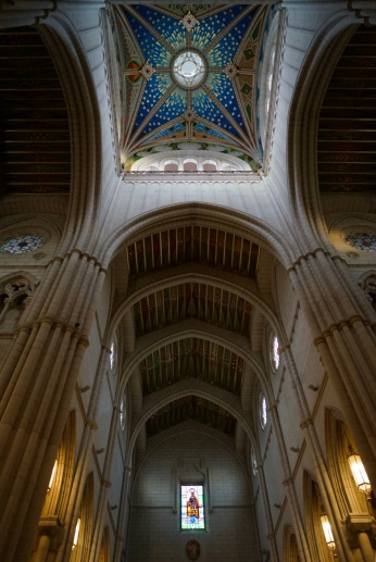 I was expecting another medieval cathedral, not realizing that this one was different especially the colourful ceilings