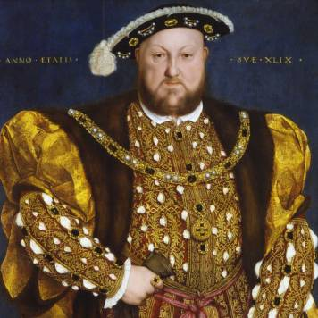 Portrait of Henry VIII. Hans Holbein the Younger (Augusta 1497 – London 1543). Picture courtesy by https://www.barberinicorsini.org/en/opera/portrait-of-henry-viii/