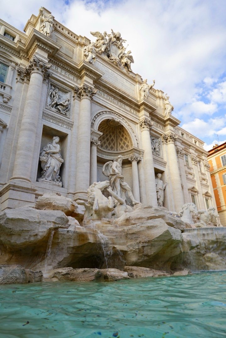 Rome's largest and most famous fountain.