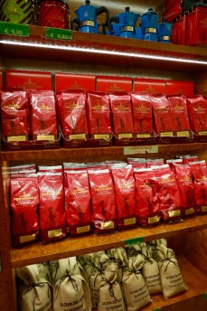 You can also buy some coffee beans to share with for your friends and family at home