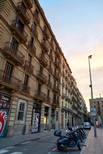 Barcelona is vibrant yet welcoming. I spend a few hours just wandering around