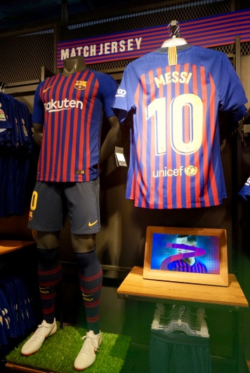 This store is perfect for hard-core Barca fans