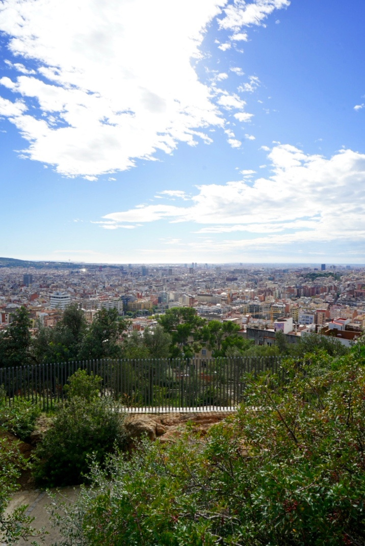 It's a big park situated at a hill top and whole of Barcelona can be viewed from the top. You need to walk a lot if you want to see everything