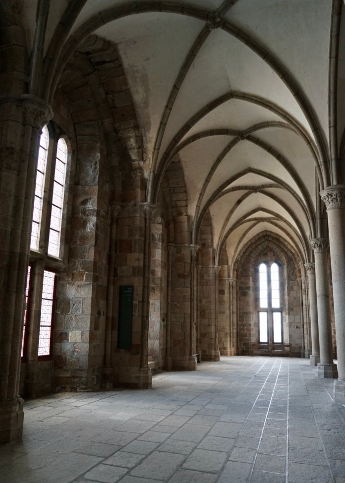 It was built to used by the monks as a room for work and study