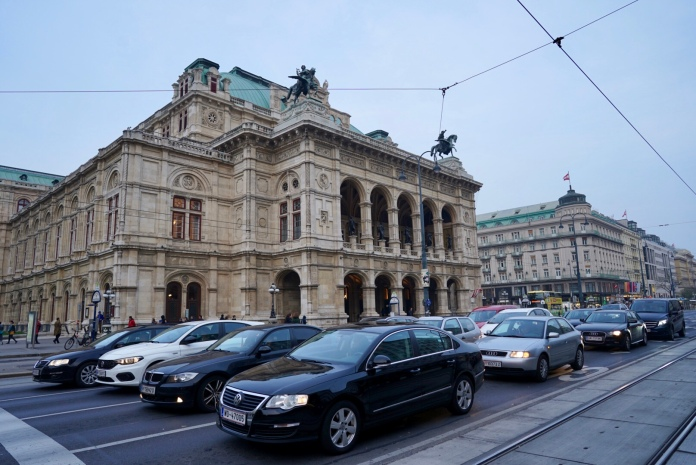I love to walk and getting lost in the new city. In Vienna, everything is within walking distance