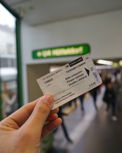 With this ticket you can go anywhere, you can use all public transportation in Vienna for 1 day. You can buy it from automatic ticket machines at most underground stations. Don't forget to validate it before you use it for the first time