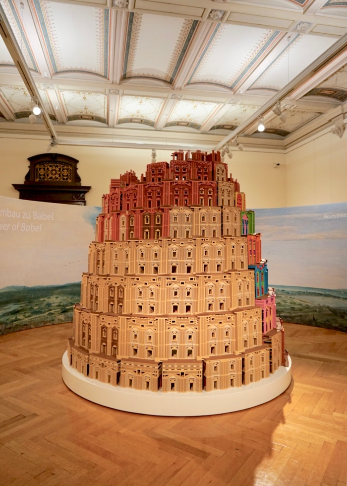 Tower of Babel Miniature inside the museum