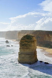 How the erosion has shaped the sandstone