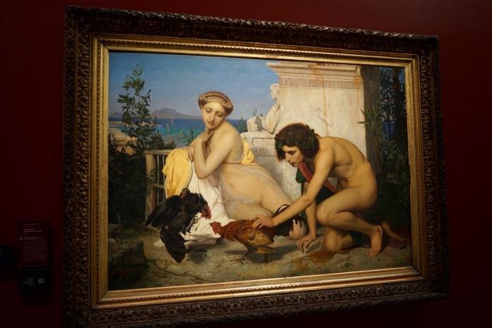 Young Greeks Attending a Cock Fight - Jean-Léon Gérôme