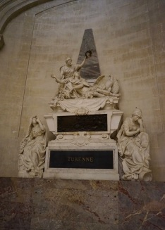 The tomb of Turenne, famous military leaders