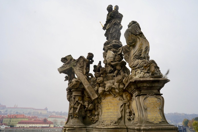 The construction of the bridge dates from Charles IV, King of Bohemia and Holy Roman Emperor. Legend has it that he planned out every detail, including the 30 statues