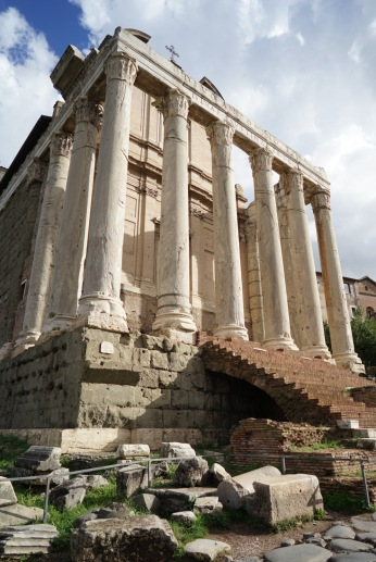 The Roman Forum was ancient Rome's centrepiece, a grandiose district of basilicas and vibrant public spaces