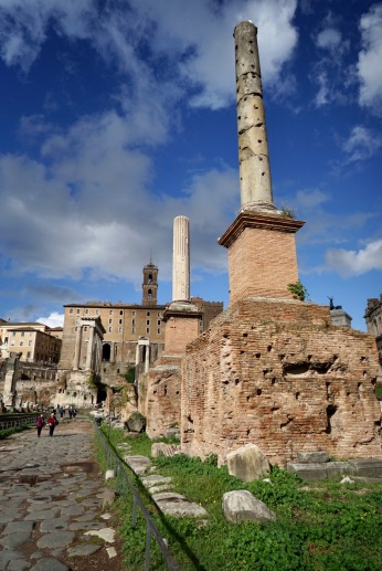 it's a collection of impressive ruins that can leave you speechless. There's something compelling about walking in the footsteps of Julius Caesar, the legendary figures of Roman history