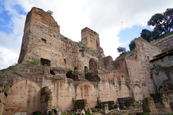 The oldest and most exclusive part of imperial Rome. The Palatino is an atmospheric area of towering pine trees, majestic ruins and memorable views. According to legend, this is where Romulus and Remus were saved by a wolf and where Romulus founded Rome in 753 BC. Archaeological evidence can't prove the myth, but it has dated human habitation here to the 8th century BC