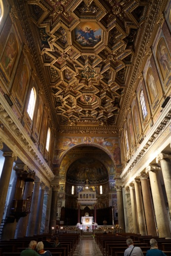 Whether they're baroque, medieval or Renaissance, many churches also feature a form of uniquely Roman, integrating leftover architectural elements from imperial Rome