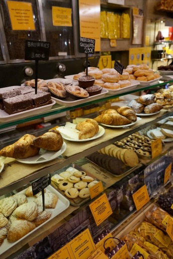 Pastries are fresh and tasty