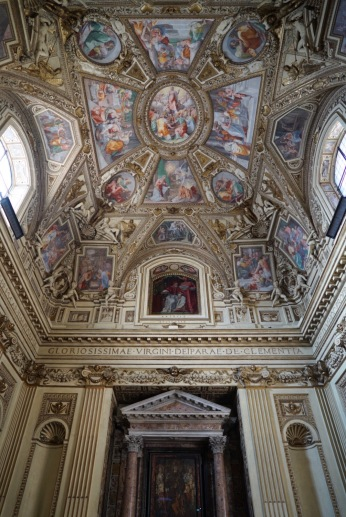 The wealth of the Roman church has benefited from architects who create their finest works in the glorification of God