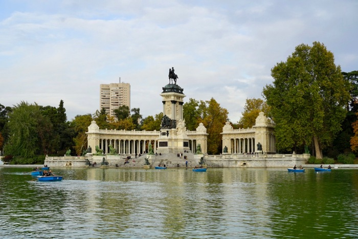 Madrid's main park