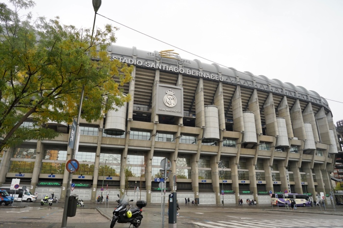 A Disneyland for Real Madrid fans. Football cathedral. An imposing sight from the outside but it is much more amazing once you step inside.  I can see how it's one of the Europe's most famous venues