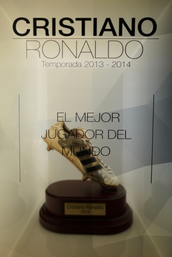 This is Ronaldo's third Golden Boot, the second with Real Madrid