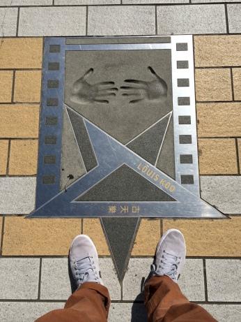 Hongkong's Walk of Fame, celebrating Hong Kong film industry and celebrities